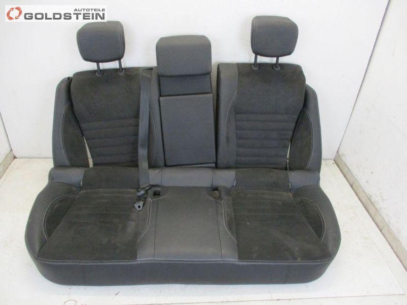 Rücksitzbank Leder geteilt Rückbank Sitz Hinten Rücksitz SchwarzRENAULT LAGUNA III GRANDTOUR (KT0/1) 2.0 DCI