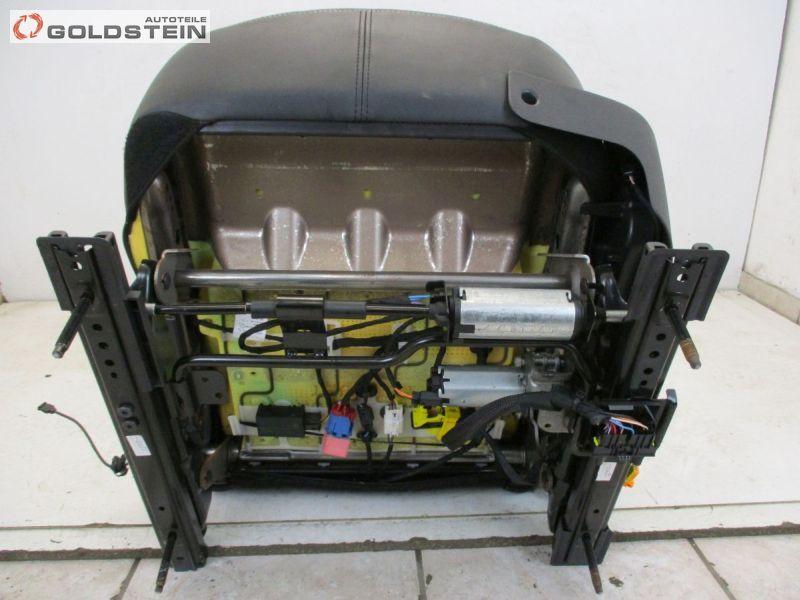 Sitz vorne links Alcantara Schwarz Shz. elek. VerstellbarRENAULT LAGUNA III GRANDTOUR (KT0/1) 2.0 DCI