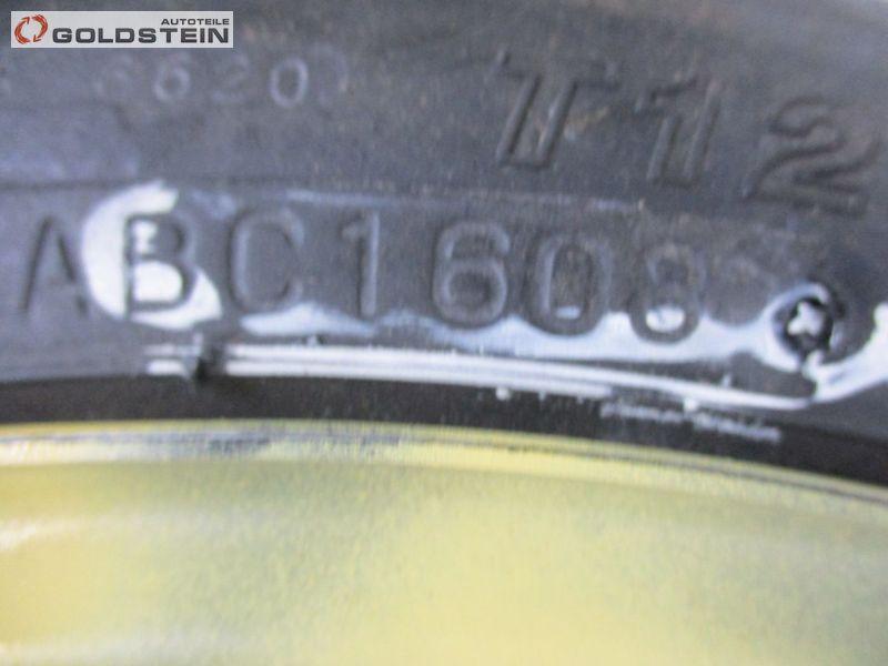 Notrad Ersatzrad T125/70D16 96M 4j/16zoll Dot 1608MITSUBISHI LANCER STUFENHECK VIII (CY/Z_A) 2.0 DI-D
