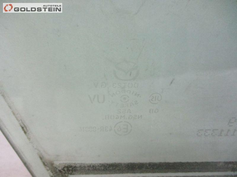 Seitenscheibe Fensterscheibe vorne links MAZDA CX-7 (ER) 2.3 MZR DISI TURBO AWD