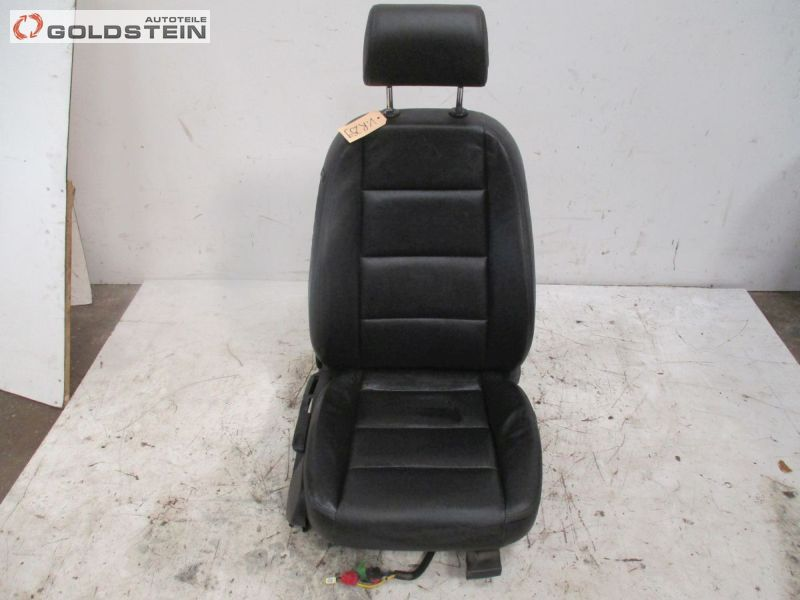 Sitz vorne rechts Leder Schwarz Sitzheizung HöheneinstellungAUDI A6 (4F2, C6) 2.7 TDI LIMOUSINE