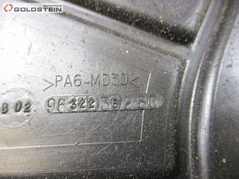 Abdeckung Zahnriemenabdeckung Zahnriemen XFV ES9APEUGEOT 407 COUPE (6C_) 3.0 V6