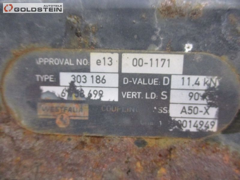 Anhängerkupplung Ohne KugelkopfBMW 5 (E60) 525D
