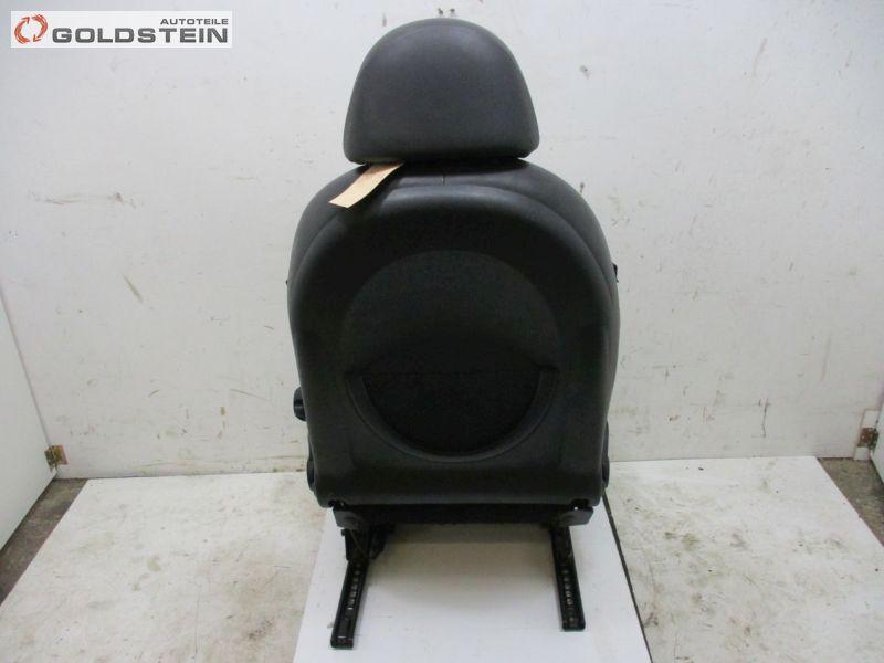Sitz vorne rechts Sitzheizung Sportsitz T6PN Leder SchwarzMINI MINI CABRIOLET (R52) COOPER S