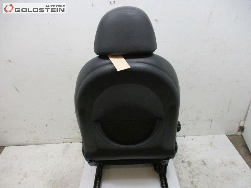 Sitz vorne links Sitzheizung Sportsitz T6PN Leder SchwarzMINI MINI CABRIOLET (R52) COOPER S