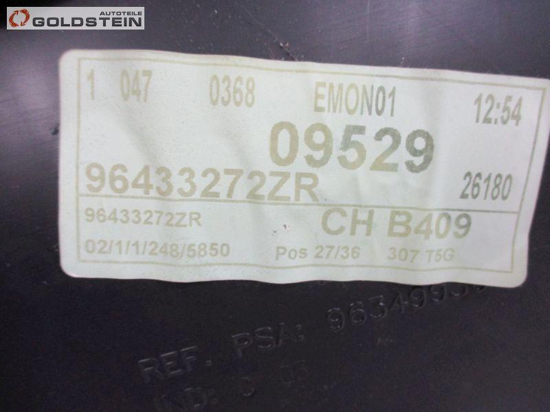Türverkleidung vorne links SchwarzPEUGEOT 307 BREAK (3E) 2.0 HDI 135