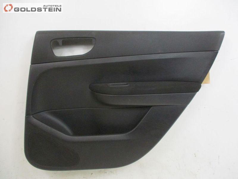 Türverkleidung rechts hinten SchwarzPEUGEOT 307 BREAK (3E) 2.0 HDI 135