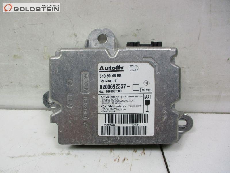 Steuergerät Airbag Airbagsteuergerät RENAULT GRAND SCENIC II (JM0/1_) 2.0 DCI