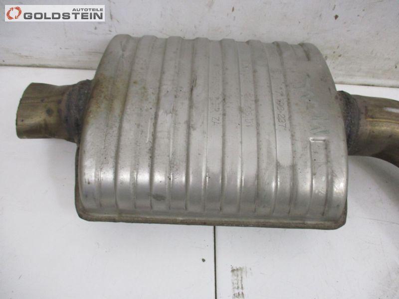 Auspufftopf mitte Mitteltopf MittelschalldämpferBMW 3 (E90) 318D LCI