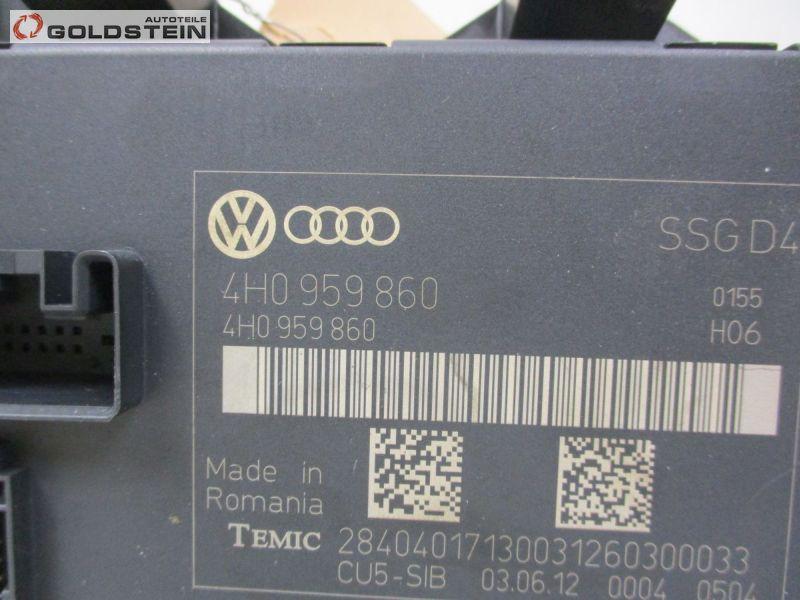 Steuergerät Sitzverstellung MemoryAUDI A8 L (4H_) 3.0 TDI QUATTRO
