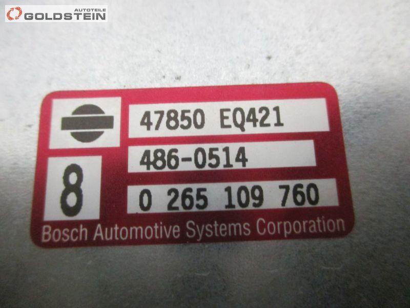 Steuergerät ABS ANTIBLOCKIERSYSTEMNISSAN X-TRAIL (T30) 2.2 DCI 4X4