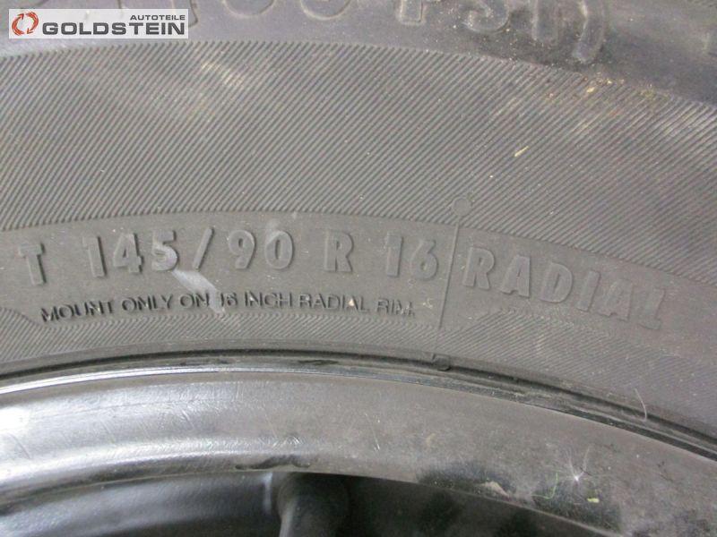 Notrad Ersatzrad T145/90R16 ET40 4Tx16FHNISSAN QASHQAI (J10, JJ10) 1.5