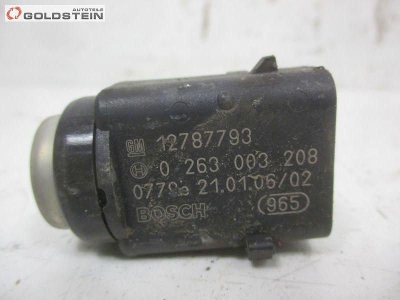 Sensor, PDC hinten 4x sensorenOPEL SIGNUM 1.9 CDTI