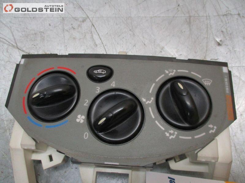 Heizungsregler Kombischalter HeizungsbedienteilNISSAN PRIMASTAR BUS (X83) DCI 80