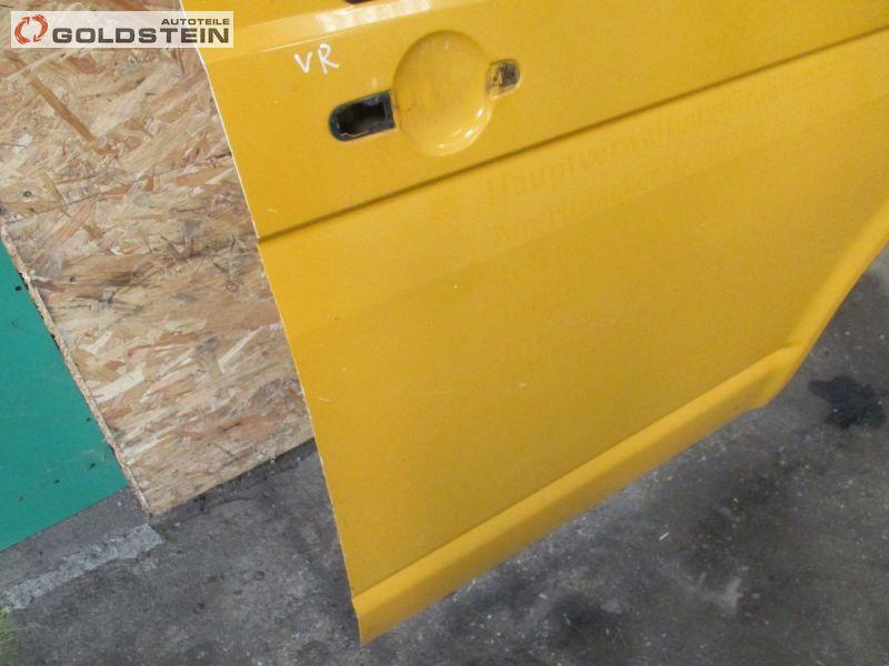 Tür rechts vorne Beifahrertür Gelb / OrangeVW TRANSPORTER V KASTEN (7HA, 7HH, 7EA, 7EH