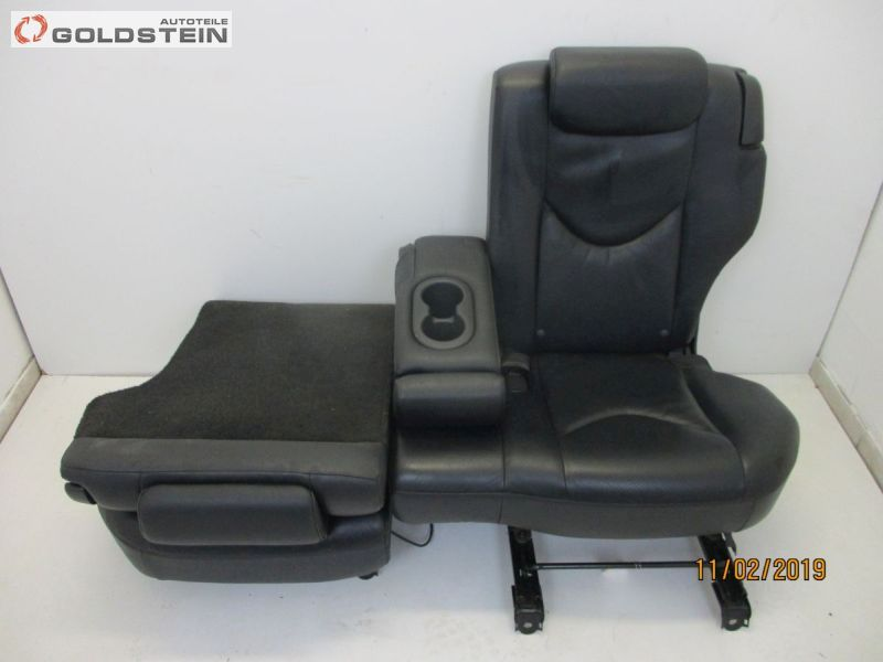 Rücksitzbank Leder geteilt umklappbar mit Armlehne u. GetränkehalterTOYOTA RAV 4 III (ACA3,ACE,ALA3,GSA3,ZS)